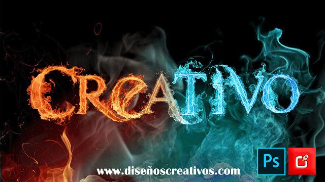 letras-de-fuego-png-azul-online diseños creativos 1