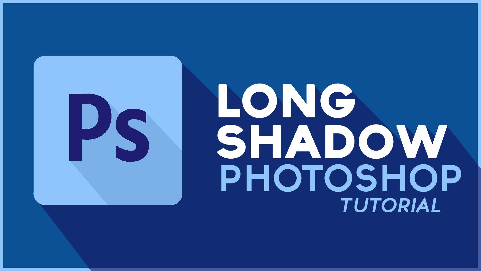 long shadow en photoshop diseños creativos