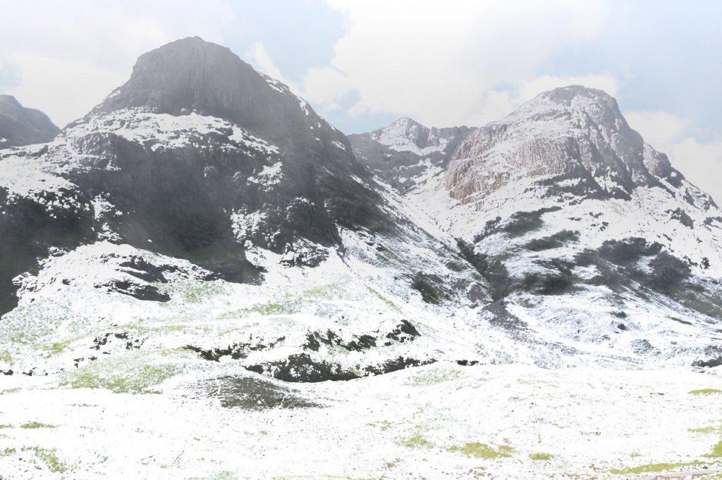 como crear un paisaje nevado en photoshop