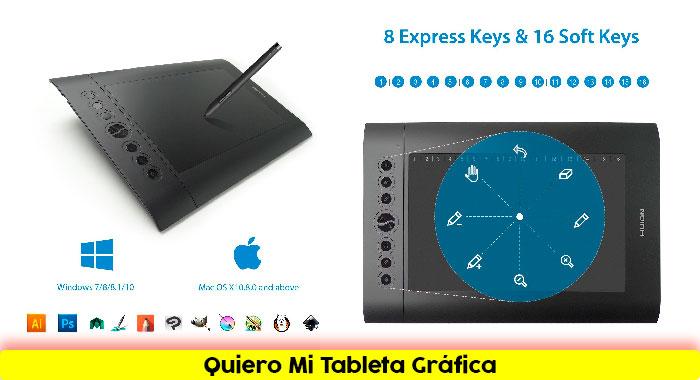 Tableta-gráfica-HUION-H610-Pro-Diseños-Creativos