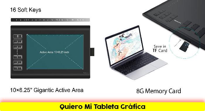 Tableta-grafica-HUION-NEW-1060PLUS-Diseños-Creativos