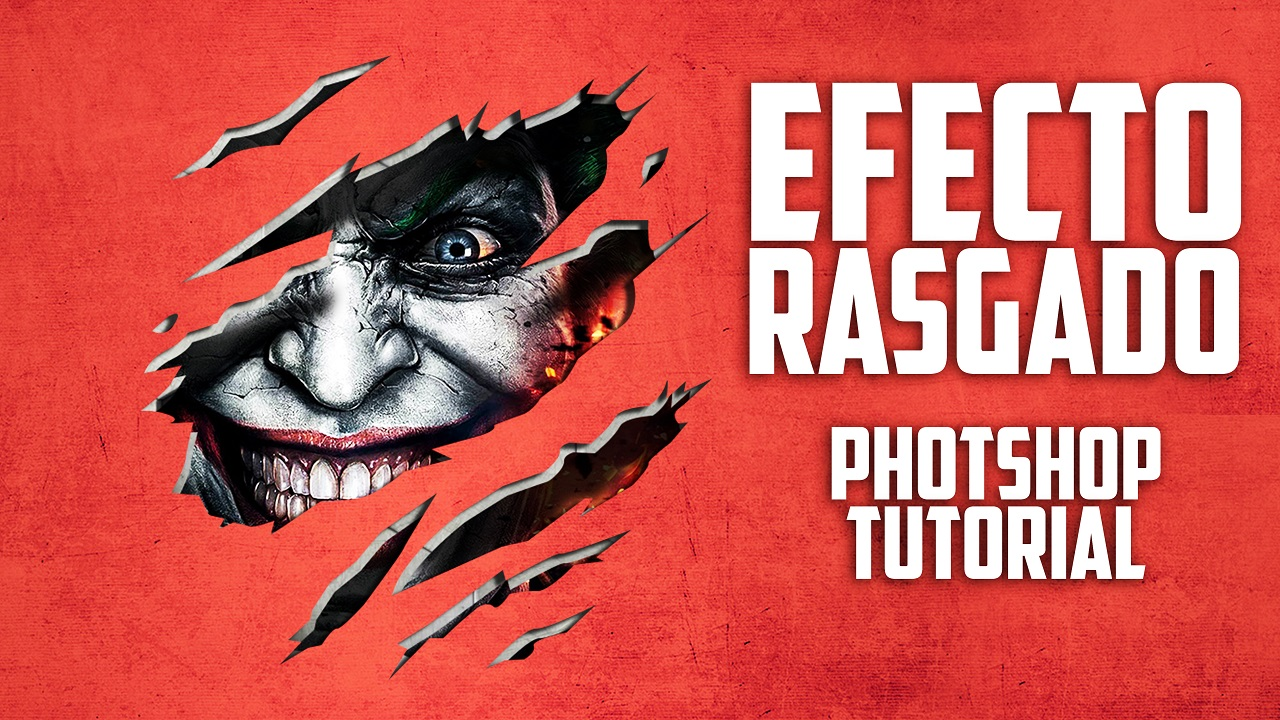 Efecto de Rasgado en Photoshop