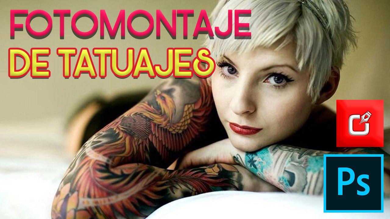 Fotomontaje de Tatuajes para mujeres y hombres