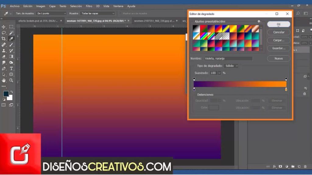 PHOTOSHOP CS6 TUTORIAL, Como hacer Efecto Bokeh , diseñoscreativos 26
