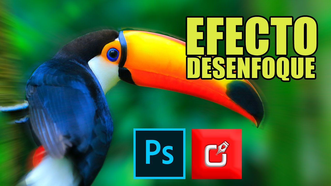 Desenfoque selectivo en photoshop