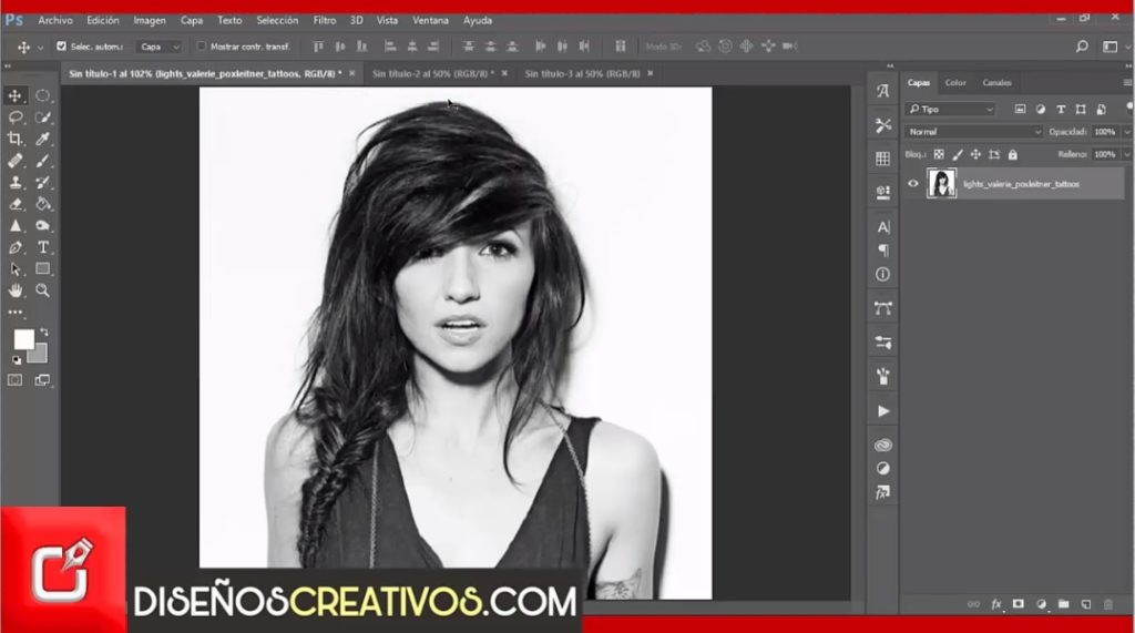 PHOTOSHOP TUTORIAL como hacer efecto pop art inspirado en Andy Warhol 2