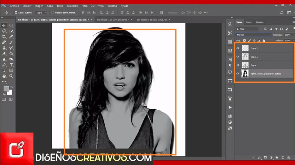 PHOTOSHOP TUTORIAL como hacer efecto pop art inspirado en Andy Warhol 3