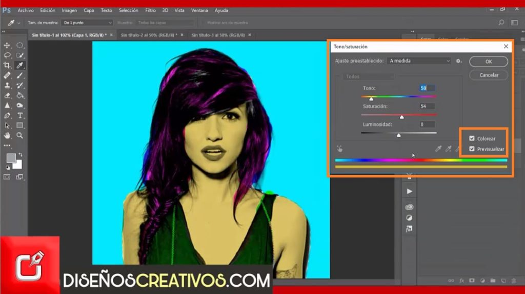 PHOTOSHOP TUTORIAL como hacer efecto pop art inspirado en Andy Warhol 4