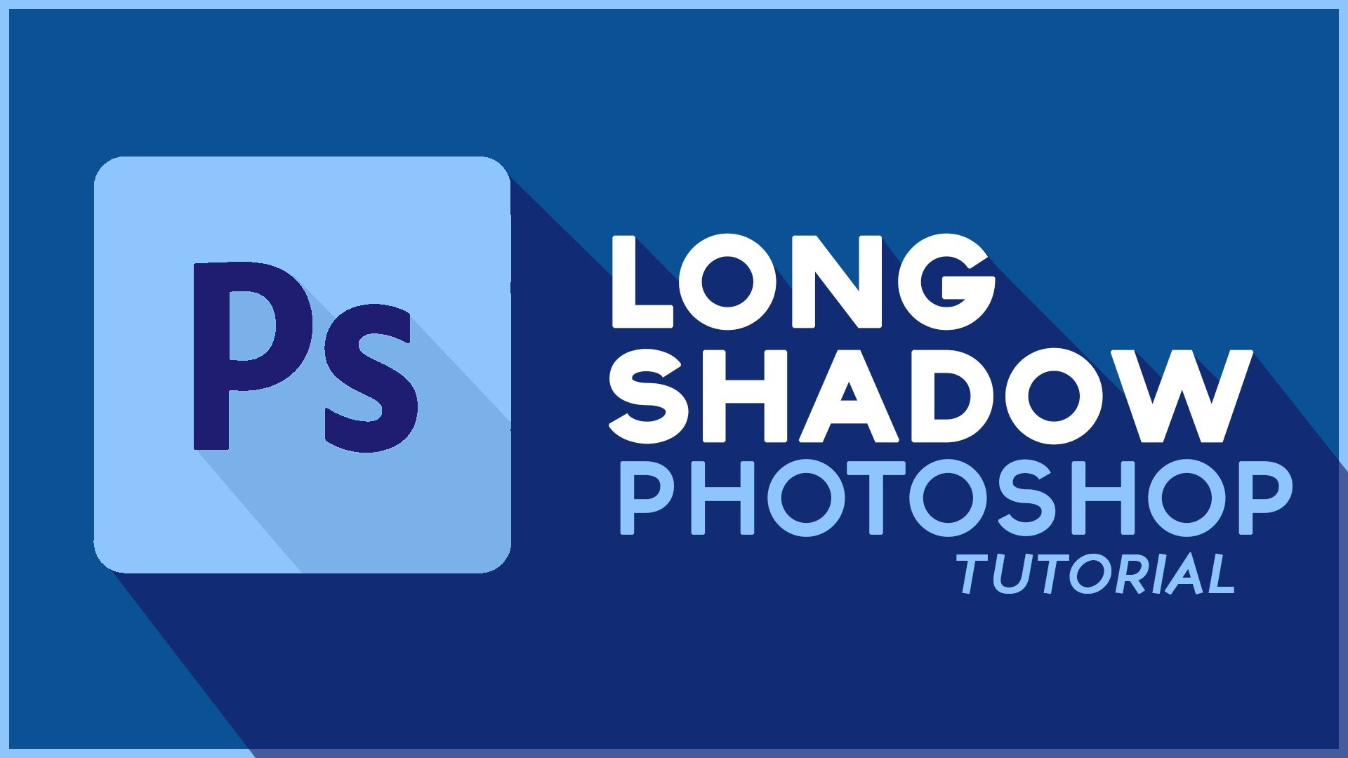 long shadow en photoshop diseños creativos
