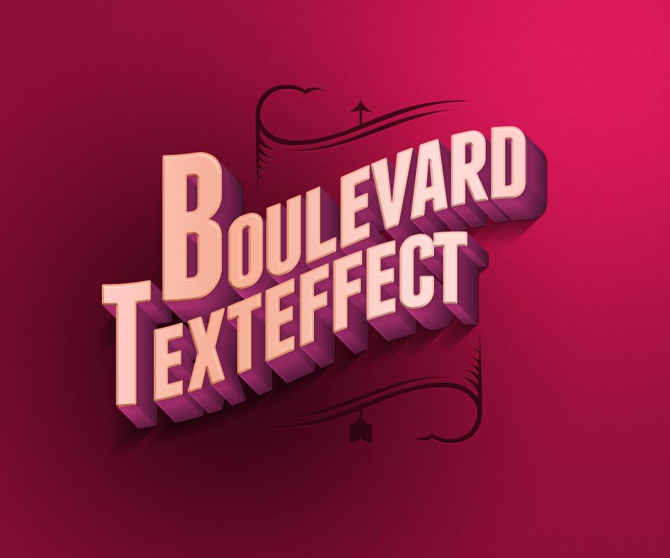 10 Efecto de textoBOULEVARD