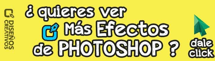 Diseños creativos de Photoshop efectos