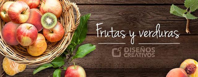 frutas y verduras diseños creativos