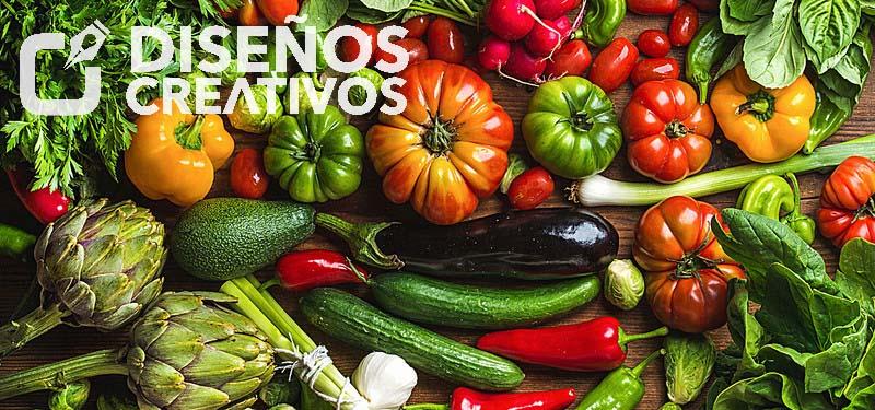 imagenes de verduras diseños creativos 2