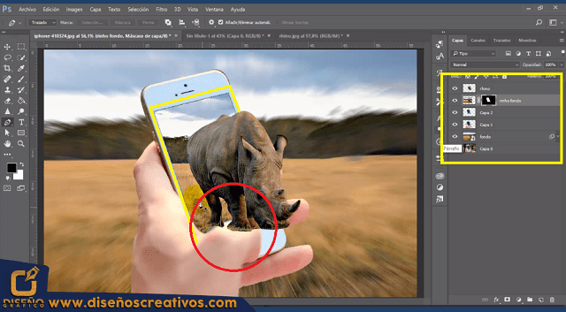 Como hacer un EFECTO 3D POP OUT en Photoshop | Tutorial