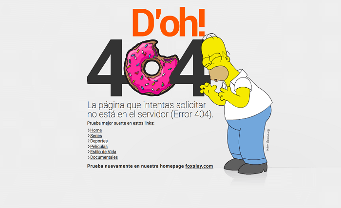 las mejores páginas de error 404 diseños creativos