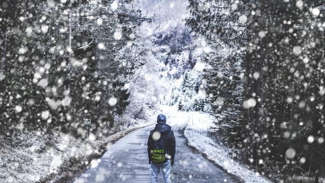 efecto nieve en photoshop con herramienta pincel