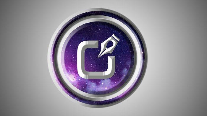efecto logo galaxy en photoshop diseños creativos
