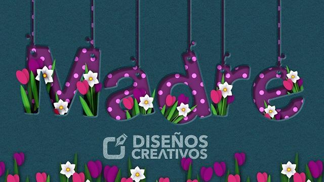 feliz dia de la madre diseños creativos