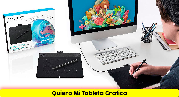 Tableta digitalizadora Wacom-Intuos-Art