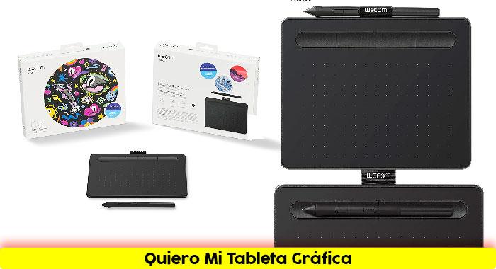 Tableta gráfico Wacom CTL-4100K-S Intuos