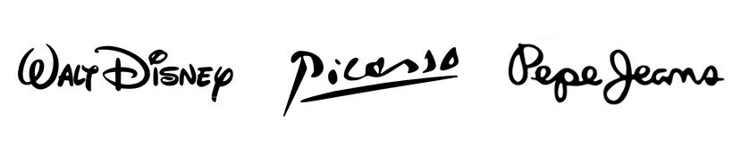 logo de firma diseños creativos
